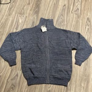 Haband Zip up Sweater Size XL